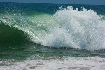 Blue Beach wave