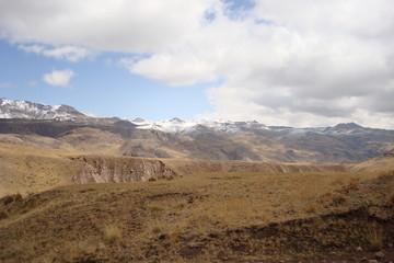 Montagne d'Amérique du sud.