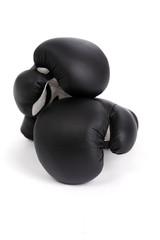Gants de boxe noir