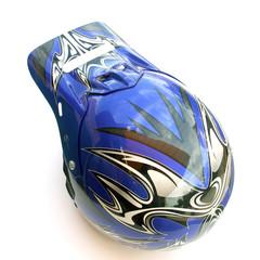 Papier Peint - casque bleu