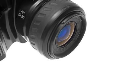 SLR Camera's lens closeup