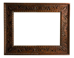 Empty picture frame (with clipping path)