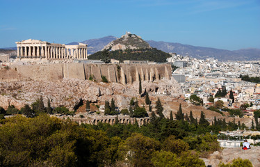 Athens and Acropolis Hill
