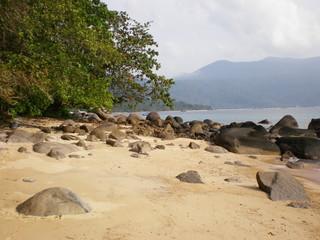 Sea coast at Tioman Island