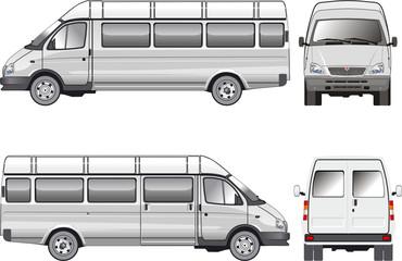 Stratch passenger bus