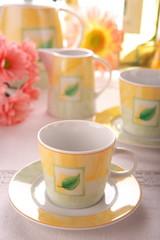 Beauty porcelain pottery