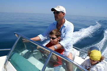 Le bateau en famille