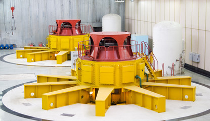Water turbine generators