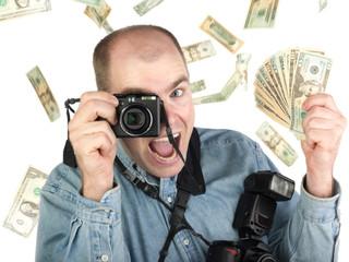 Successful photographer