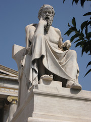 Thinker (Statue of Plato, Athens, Greece)