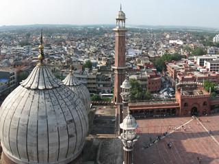inde - delhi - mosquée