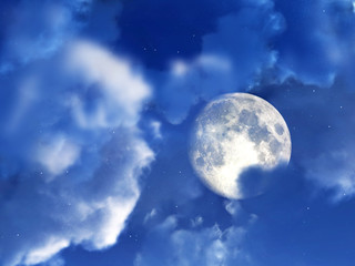 Moon Night Sky 7