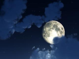 Moon Night Sky 4