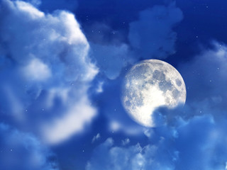 Moon Night Sky 10