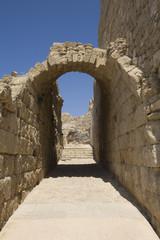 Arch at ruins of Caesarea