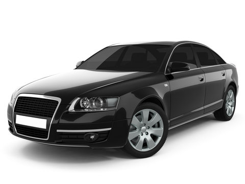 Black Business-Class Car