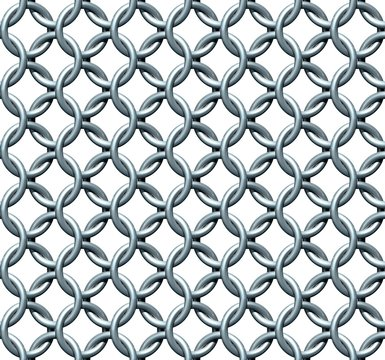 Seamless Chainmail Texture