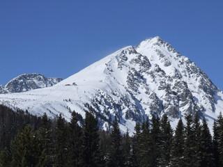Snowy rocks 1
