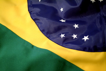 brazil flag detail