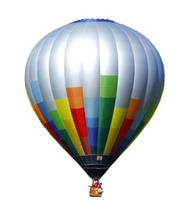 Ballon freigestellt