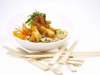 japanisches garnelen tempura