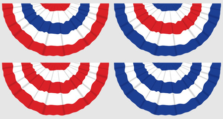 Four Flag Buntings
