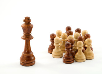 chess  - leader