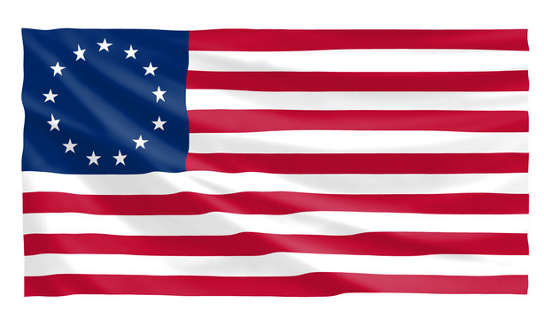 old us betsy ross flag