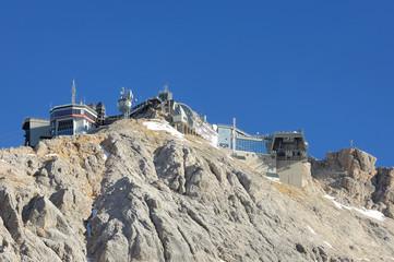 Wall Mural - Gipfelstation auf der Zugspitze 04