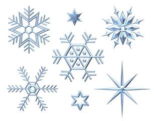 Schneeflocken - Sterne