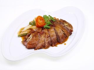 chinesische fritierte entenbrust
