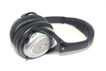 isolated dj headphones