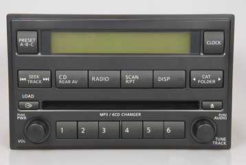 Stock Nissan Bose Radio with MP3 and 6 disc changer