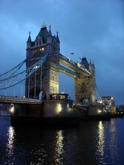 Photo sur Plexiglas Londres Tower Bridge