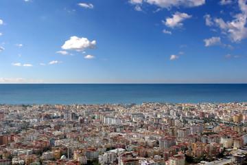 City at the ocean
