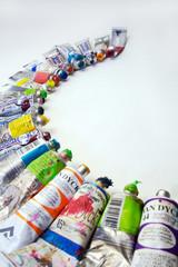 Oil color tubes