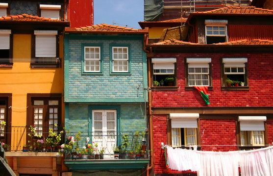 Traditional houses - Oporto, Portugal