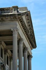 Courts Building Facade