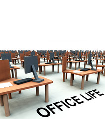 Many Desks With Chairs 8