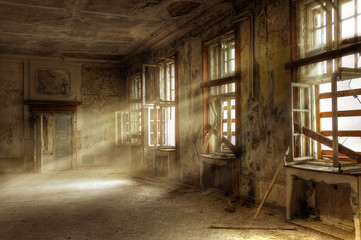Canvas Prints Ruins Russenkaserne