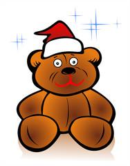 xmas toy bear