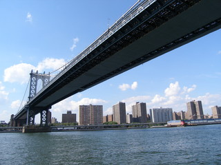 brooklyn brücke in new york usa