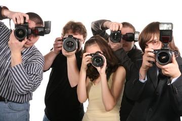 Photographers at work