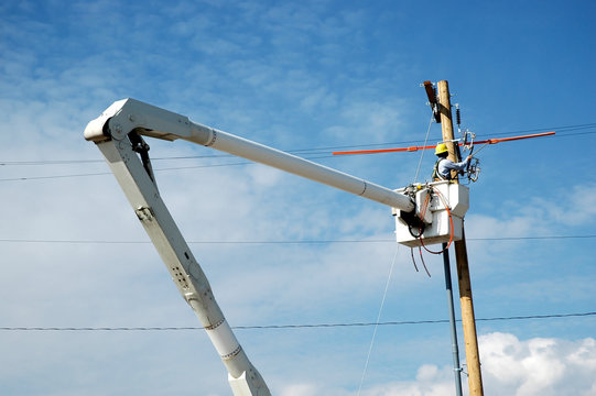Working on Power Lines