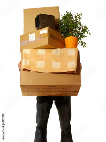 umzugskartons stockfotos und lizenzfreie bilder auf bild 5135510. Black Bedroom Furniture Sets. Home Design Ideas