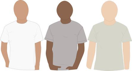 Tee-shirt mannequins