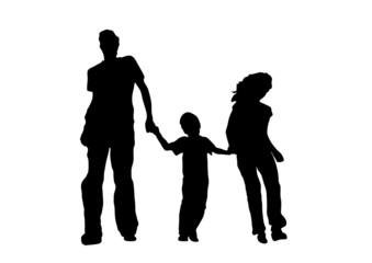 family running vector