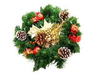 Garland as Christmas decoration