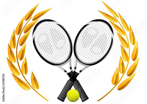 champion de tennis fichier vectoriel libre de droits sur. Black Bedroom Furniture Sets. Home Design Ideas