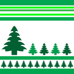 Christmas vector trees BACKGROUND